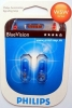 W5W Philips BlueVision Standlicht, 3400K, 2er Set
