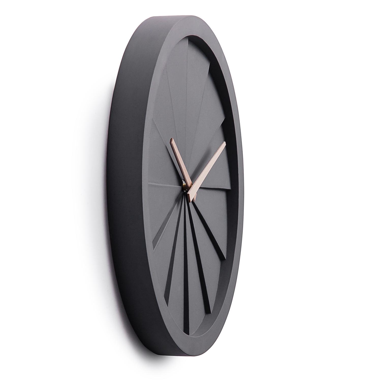 Cander Berlin MNU 6035 Designer Wanduhr Uhr Beton lautlos kein ...